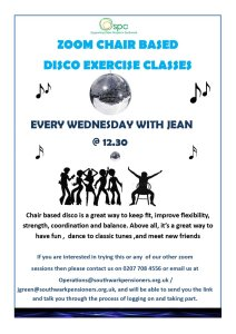 Chair Based Exercise Disco @ Zoom | England | United Kingdom