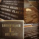 Cast Metal Plaques