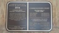 Cameron CountyNative Plant Center - Bronze plaque