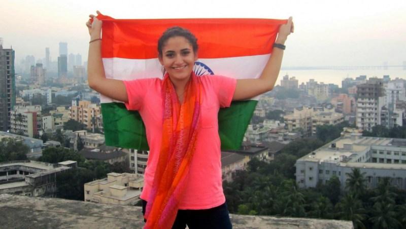 SU Student Fehima Dawy in Mumbai India