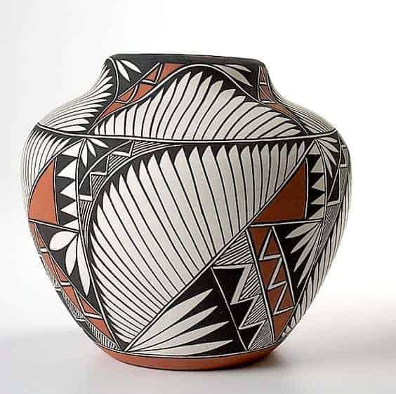southwestern vase