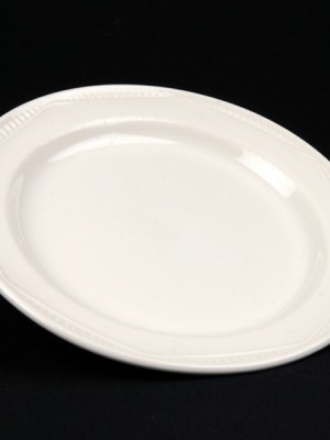 SIDE PLATE White Crockery Hire
