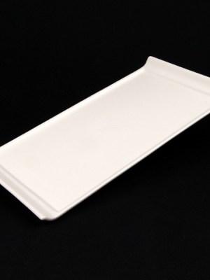 RECTANGULAR PLATE LIPPED 33cm x 17cm