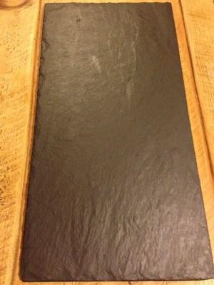 SLATE PLATTER (20 inch x 10 inch)