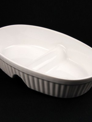 "VEG DISH - CHINA 11"" (DIVIDED)"
