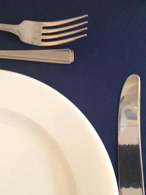 MIDNIGHT BLUE TABLE RUNNER