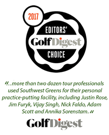 Editors 2017 Golf Digest Choice