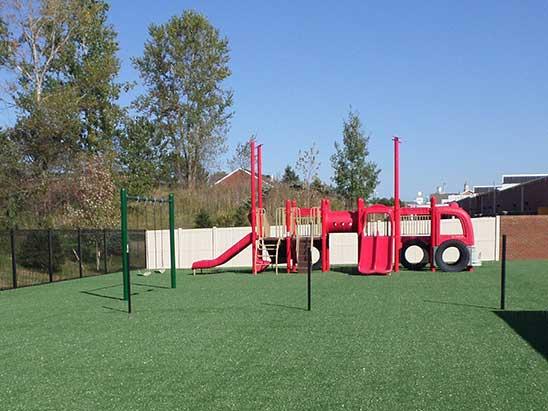 School Playground Grass