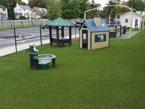 Playground Turf Safe for Kids