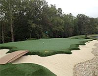 golf greens turf
