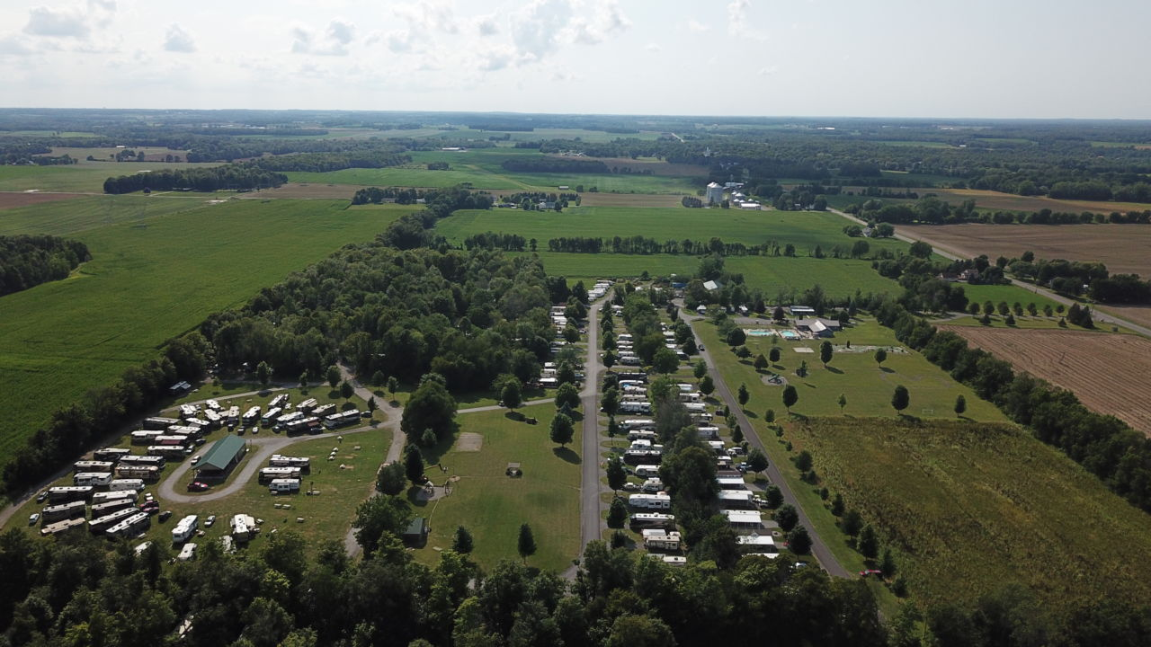 Aerial Photo of Southwoods