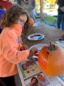 Kids Activity Pumpkin Painting