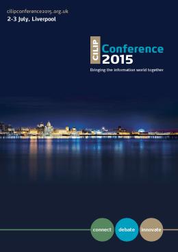 CILIP Conference 2015