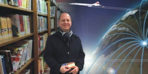 Graham Partridge The Travelling Librarian!