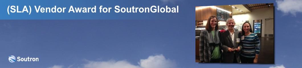 Special Library Association (SLA) Vendor Award for SoutronGlobal