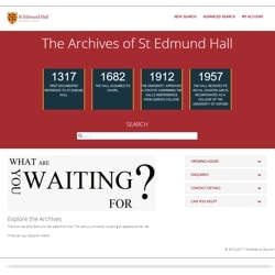 Visit the St Edmund Hall Portal