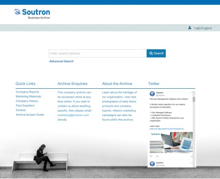 Business Archive Search Portal