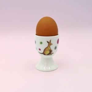 Barney Gumnut china egg cup. Hoppity Kangaroo is on this egg cup.