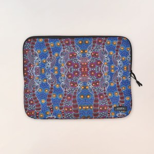 Neoprene laptop sleeve by Colleen Wallace