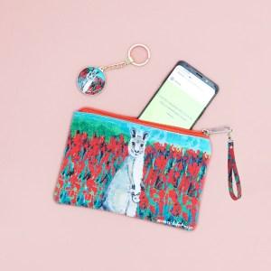 Kangaroo purse