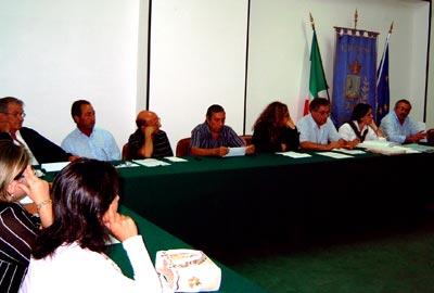 Consiglio Comuna di Satriano del 19 settebre 2006