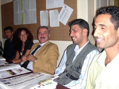 Incontro delegazione giovani iracheni