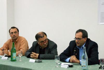 Fabio Guarna, Carlo Mellea e Giovanni Chinnici