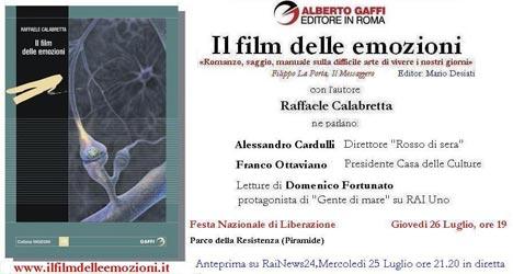 Invito Liberafesta - Il Film delle Emozioni di Raffaele Calabretta