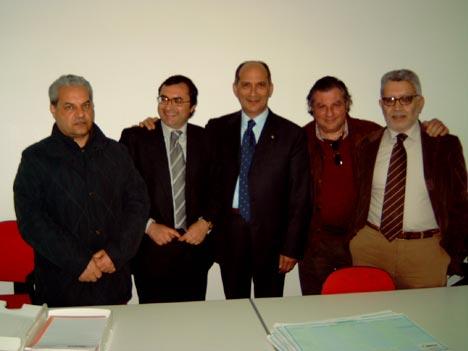 Inaugurazione segreteria Paolo Abramo