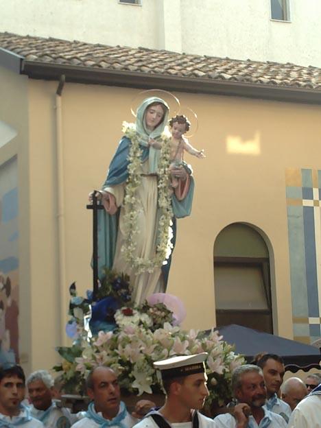 Statua Maria SS di Porto Salvo