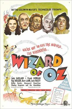 Il Mago di Oz - Poster film del 1939