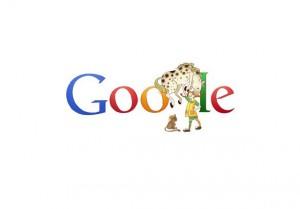 Doodle di Google dedicato a Pippi Calzelunghe