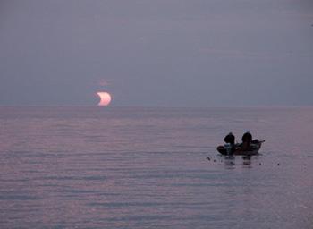Eclissi parziale di Sole del 31 maggio 2003