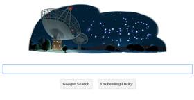 Google Doodle - Parkes Observatory