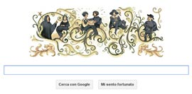Google Doodle - Alessandro Manzoni