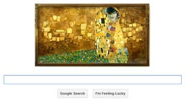 Doodle - Gustav Klimt