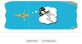 Google Doodle - Londra 2012 Canoa Slalom