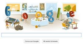 Google Doodle - Happy New Year 2013