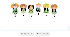 Google Doodle - St. Patricks Day