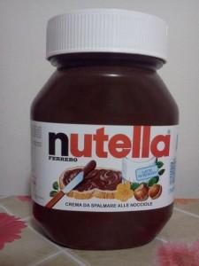 Barattolo di Nutella Ferrero