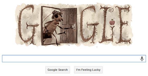 Google Doodle - Franz Kafka