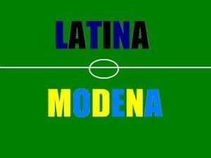 latina modena