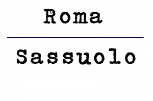 roma sassuolo