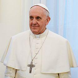 Papa Francesco - fonte: Wikipedia Italia