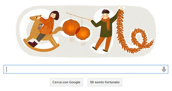 Doodle - Nuovo Anno Cinese 2014
