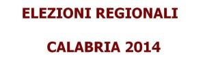 elezioni regionalii calabria 2014