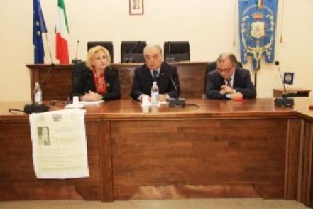 da sinistra  Maria Rosaria Russo, Giuseppe Centomà e Carlo Mellea