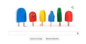 Doodle di Google del 21 giugno 2015
