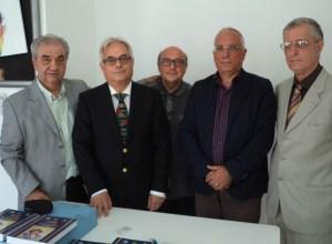 """La Giuria del """"Premio Merini 2015"""" in visita al carcere di Siano"""