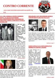 """Online il Numero 0 del mensile """"Contro Corrente"""""""